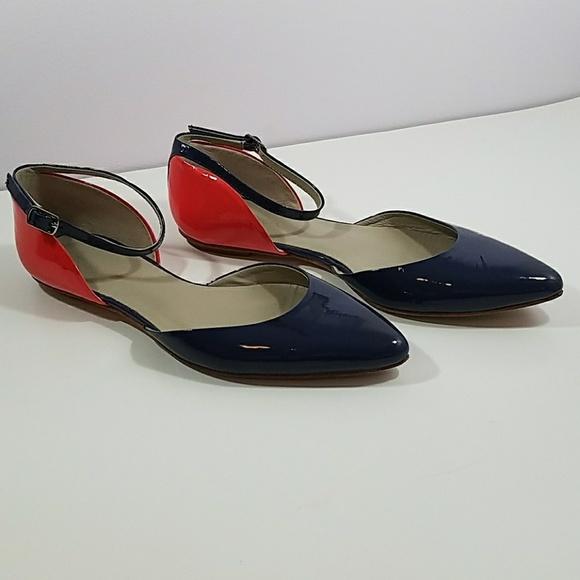 aa9b149b26a Boden Shoes - Boden Ankle Strap Flats Orange Blue EU 38 US 8